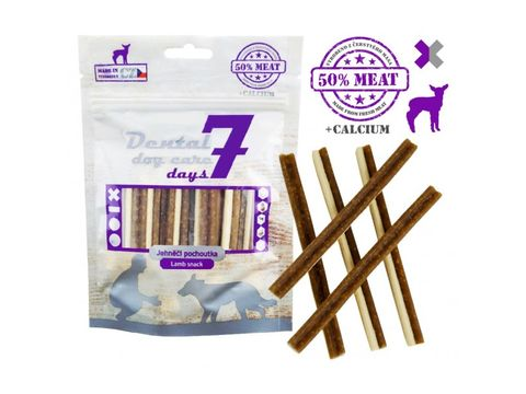 Dental dog care 7 days Fresh Meat- kříž jehněčí 80 g