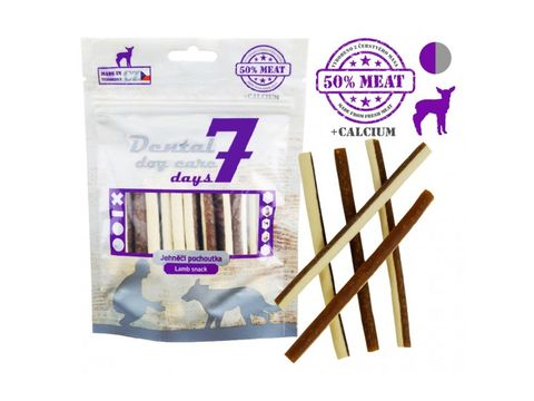 Dental dog care 7 days Fresh Meat- tyčka jehněčí 80 g