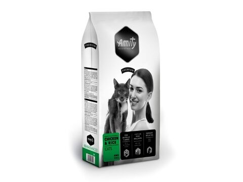 Amity cat adult chicken & rice 1,5 kg