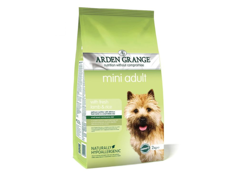 Arden Grange Mini adult rich in fresh Lamb  & rice 4 kg +2 kg zdarma