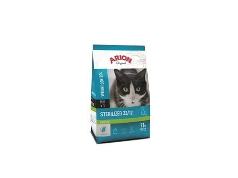 Arion cat adult sterilized 33/12 kuře 2 kg