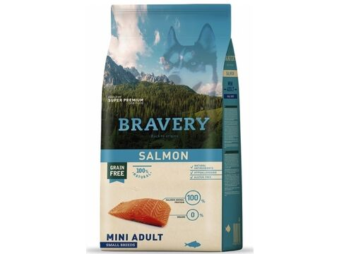 Bravery dog Adult mini grain free salmon 2 kg