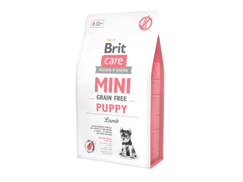 Brit Care Puppy mini Grain Free Lamb 2 kg