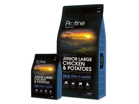 Profine Junior Large chicken & potatoes 2 x 15 kg  13.525