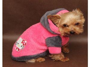 Marysa mikina s kapucí rozepínací růžová a šedá 30 cm délka 35 cm obvod  obleček doprodej 1a13558e54