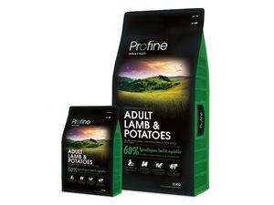 Profine Adult lamb & potatoes 15 kg + 3 kg 13.531
