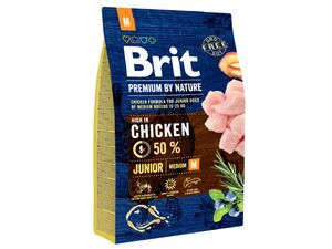 Brit Premium by Nature Junior M 3 kg  13.586