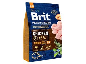 Brit Premium by Nature Senior S+M 1 kg  13.592