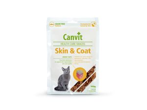 Canvit Snack Skin&Coat losos 100 g