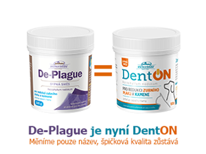 De-plague 100 g 2ks +DentON 100 g 1 ks zdarma