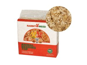 Rabbit Weed hobliny hrubé TOP 0,8 kg 45 l 3 ks super kvalita