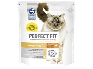 Perfect fit cat Adult Sensitive 1,4 g krůtí  SLEVA