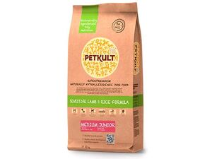 Petkult medium Junior lamb & rice 12 kg
