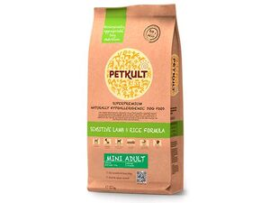 Petkult mini adult  lamb & rice 2 kg