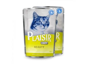 PLAISIR Care Beauty kapsička 85 g cat losos ve šťávě 419