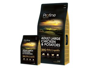 Profine Adult large chicken & potatoes 15 kg + 3 kg zdarma 13.519