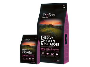 Profine Energy chicken & potatoes 15 kg 13.527