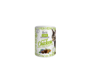 Brit Care Cat snack Superfruits Chicken 100 g rakytník a borůvka 16.630
