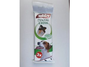 TOBBY Dental Cross 70g 3ks zelený